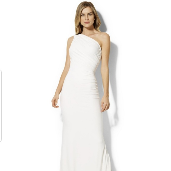 Lauren Ralph Lauren Dresses | White Gown By Wedding | Poshmark